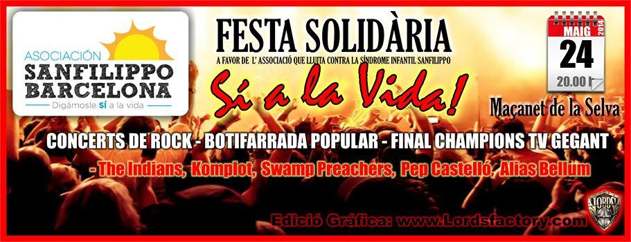 Sanfilippo fiesta solidaria maçanet 2014